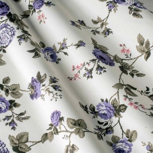 Шторы с розами фиолетовый - 240834v25