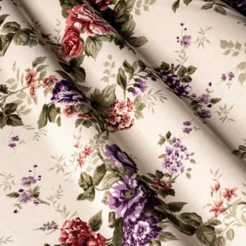 Гарна тканина для штор троянди - 321252v6