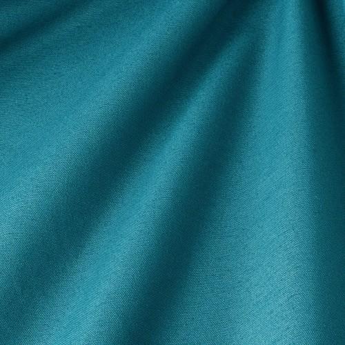 Декоративная ткань однотонная, тёмно-бирюзовый - 800000v56