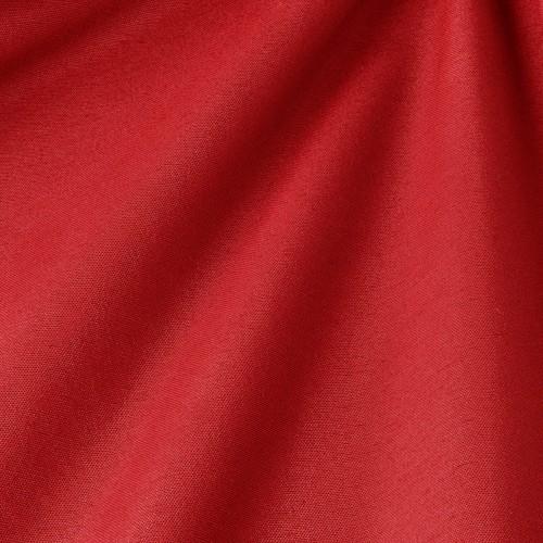 Декоративная ткань однотонная, рубиново-красный - 800000v59