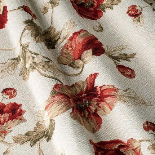 Декоративная ткань с цветочными мотивами, крупные цветы - 800170v1