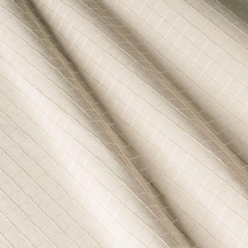 Скатертная бежевая ткань, клетка - 800212v2
