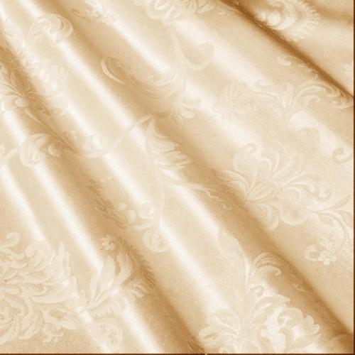 Скатертная золотая ткань, цветочные мотивы - 800218v2