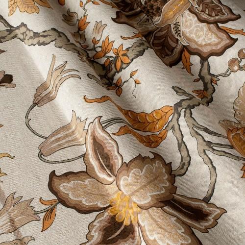 Декоративная ткань с цветочными мотивами - 800232v2