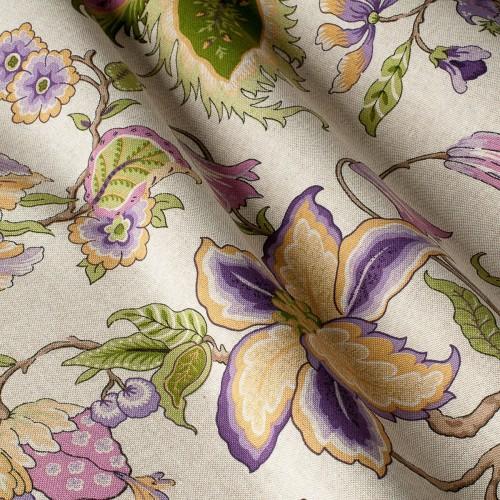 Декоративная ткань с цветочными мотивами - 800232v3
