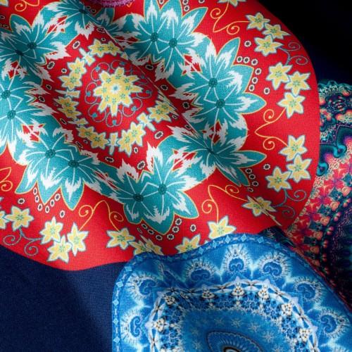 Декоративная ткань с принтом узор - 800258v1