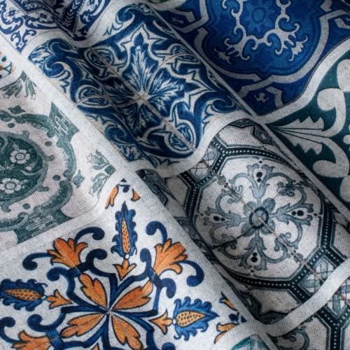 Декоративная ткань с принтом плитка - 800288v1