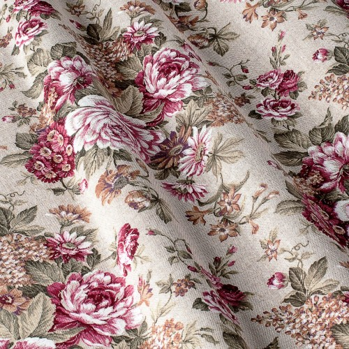 Декоративная ткань с цветочными мотивами - 800310v1