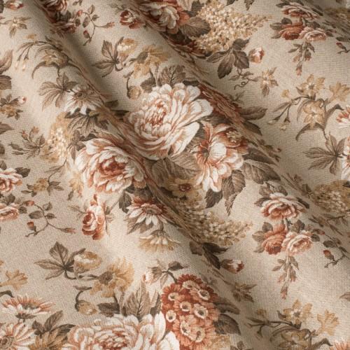 Декоративная ткань с цветочными мотивами - 800310v2