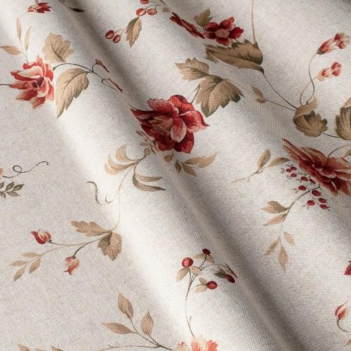 Декоративная ткань с цветочными мотивами - 800326v1