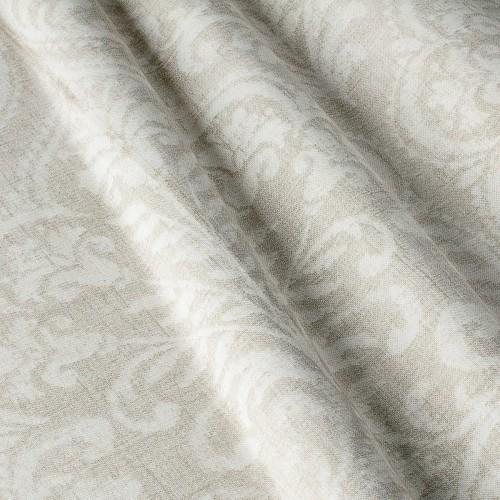 Декоративная ткань с принтом вензель - 800332v1