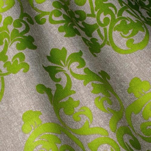Декоративная ткань c принтом узоры, вензель - 800336v2