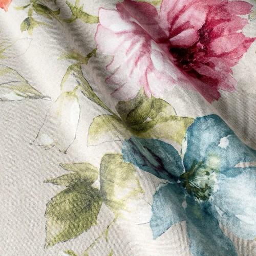 Декоративная ткань с цветочными мотивами - 800352v1