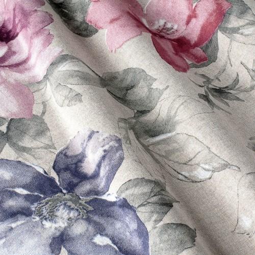 Декоративная ткань с цветочными мотивами - 800352v2