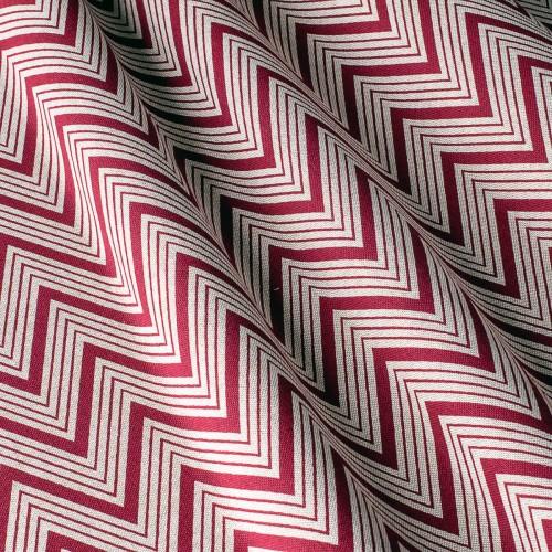Декоративная ткань с принтом зигзаг - 800354v2