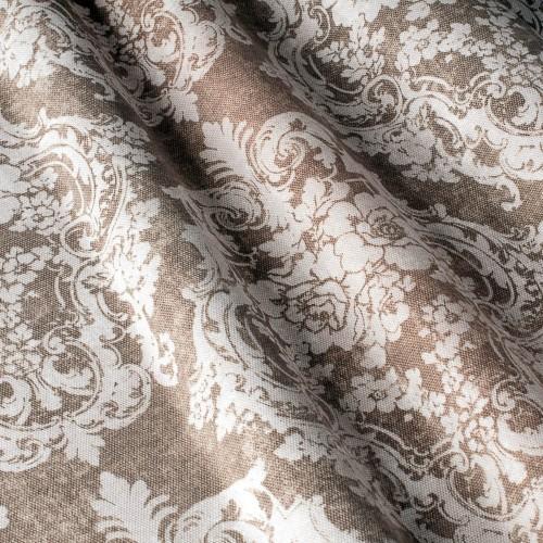 Декоративная ткань с принтом вензель - 800368v2