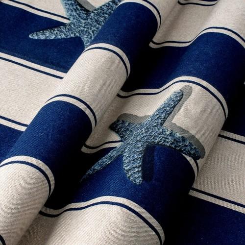 Декоративная ткань с принтом морская тематика - 800376v1