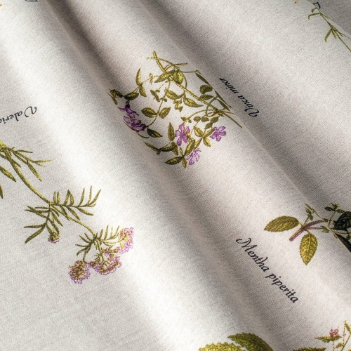 Декоративная ткань с цветочными мотивами - 800382v1