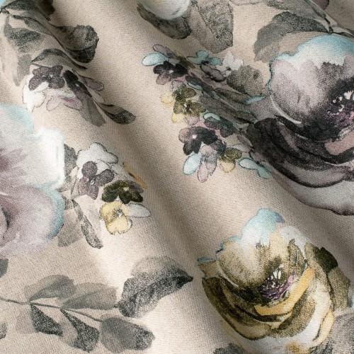 Декоративная ткань с цветочными мотивами - 800384v2
