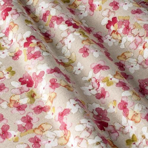 Декоративная ткань с цветочными мотивами - 800386v1