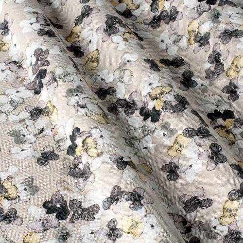 Декоративная ткань с цветочными мотивами - 800386v2