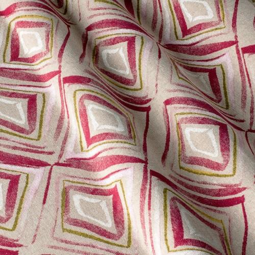 Декоративная ткань с геометрическим принтом, ромбик - 800388v1