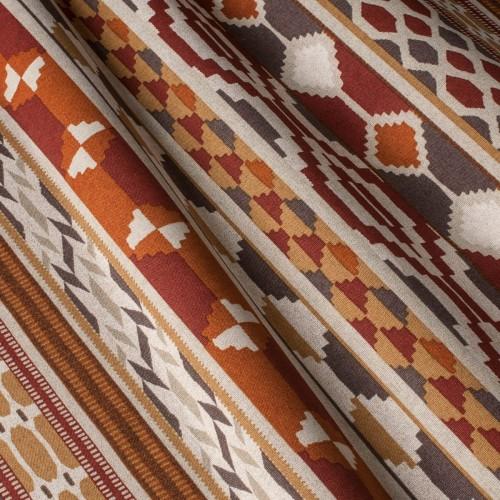 Декоративная ткань с геометрическим принтом, тефлоновое покрытие - 800390v1