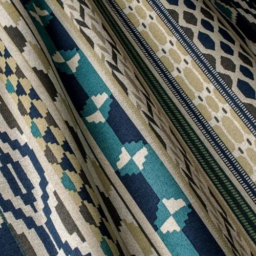 Декоративная ткань с геометрическим принтом - 800390v2