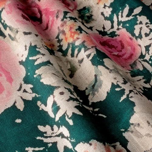 Декоративная ткань с цветочными мотивами - 800422v1