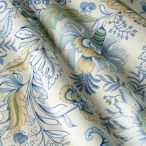 Декоративная ткань с цветочными мотивами - 800430v1