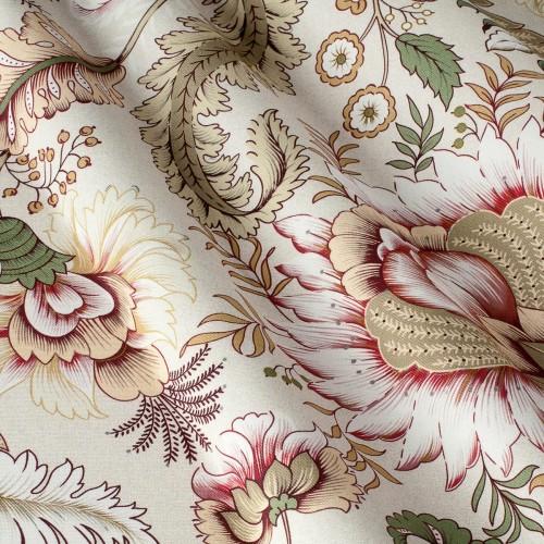Декоративная ткань с цветочными мотивами - 800430v2