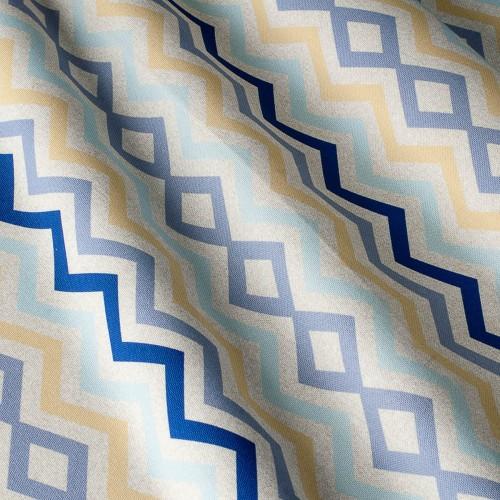 Декоративная ткань принт узор - 800432v2