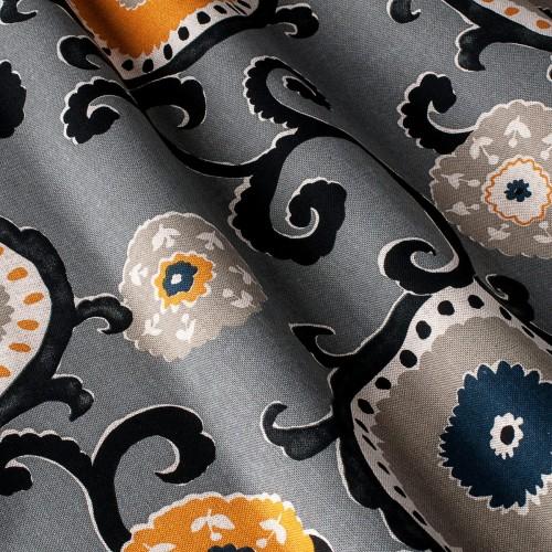 Декоративная ткань принт клетка - 800434v1