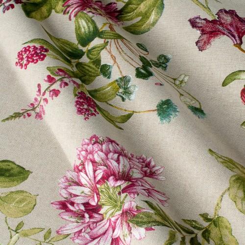 Декоративная ткань с цветочными мотивами - 800470v1