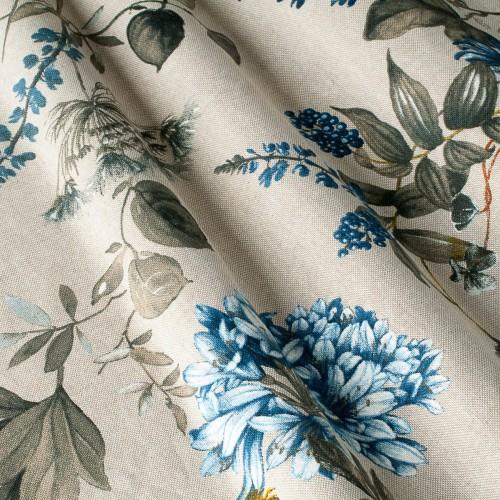 Декоративная ткань с цветочными мотивами - 800470v2