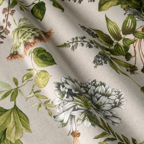 Декоративная ткань с цветочными мотивами - 800470v3