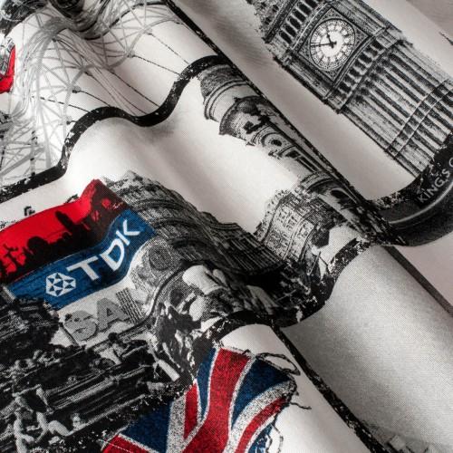 Декоративная ткань принт Лондон - 800478v1