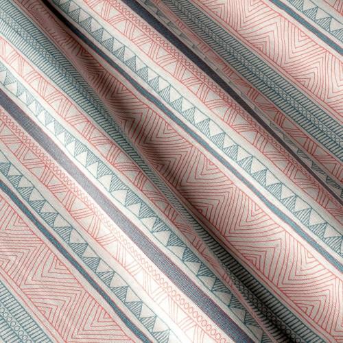 Декоративная ткань с принтом узор, тефлоновое покрытие - 800490v1