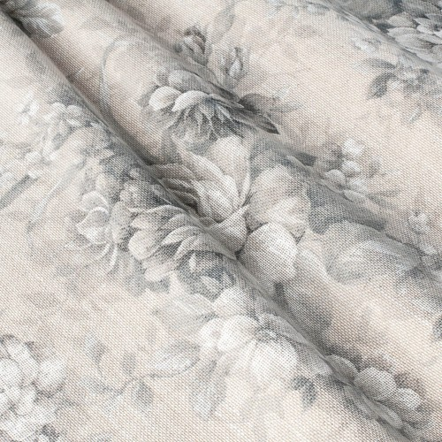 Стильная тюль компаньон цветы  - 800508v1 (тюль)