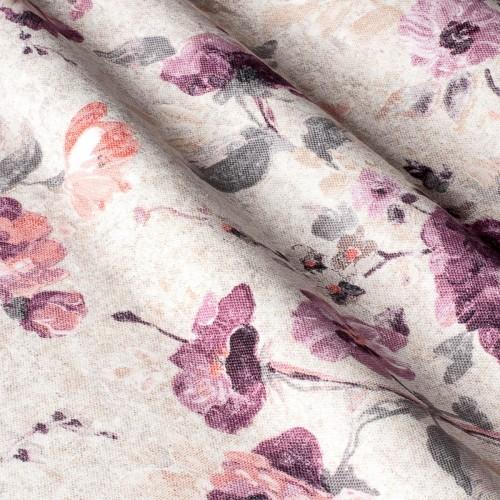 Декоративная ткань с цветочными мотивами - 800514v2