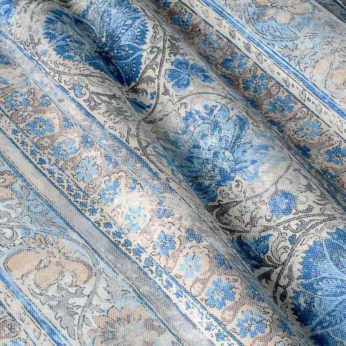 Декоративная ткань с цветочными мотивами - 800520v1