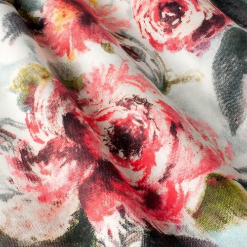 Декоративная ткань с цветочными мотивами - 800542v1