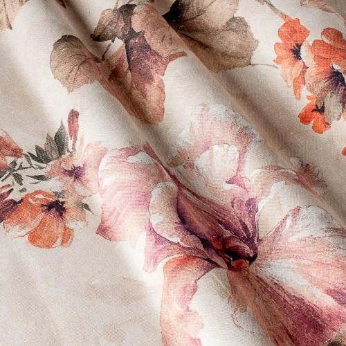 Декоративная ткань с цветочными мотивами - 800544v1