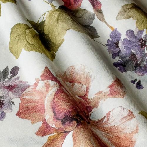 Декоративная ткань с цветочными мотивами - 800544v2