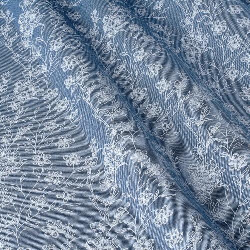 Декоративная ткань с цветочными мотивами - 800560v1