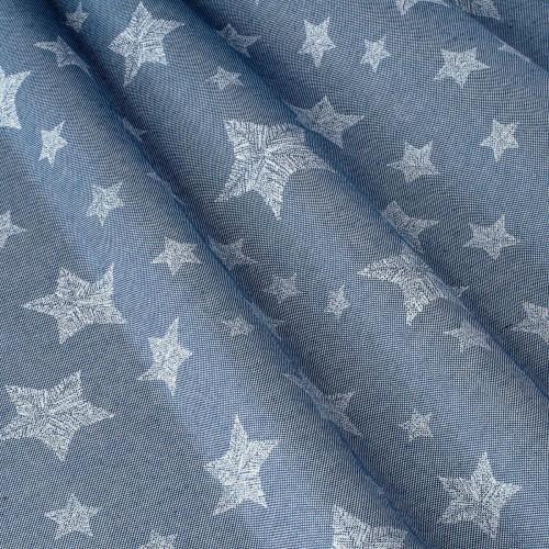 Декоративная ткань с принтом звезды - 800564v1