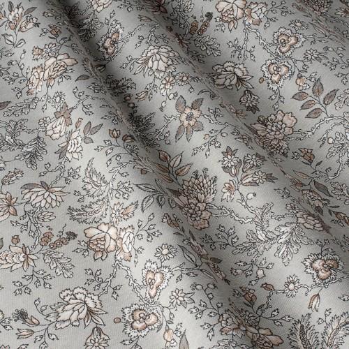 Декоративная ткань с цветочными мотивами - 800566v2