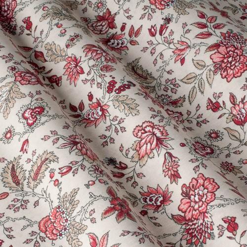 Декоративная ткань с цветочными мотивами - 800566v3