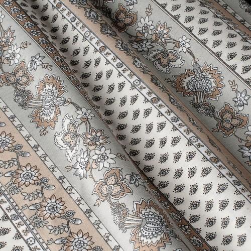 Декоративная ткань с цветочными мотивами - 800568v1