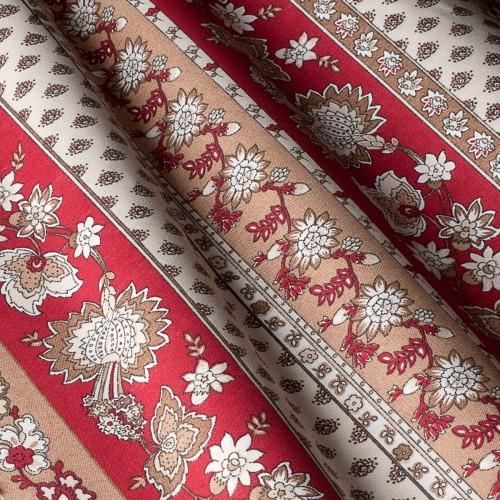 Декоративная ткань с цветочными мотивами - 800568v2